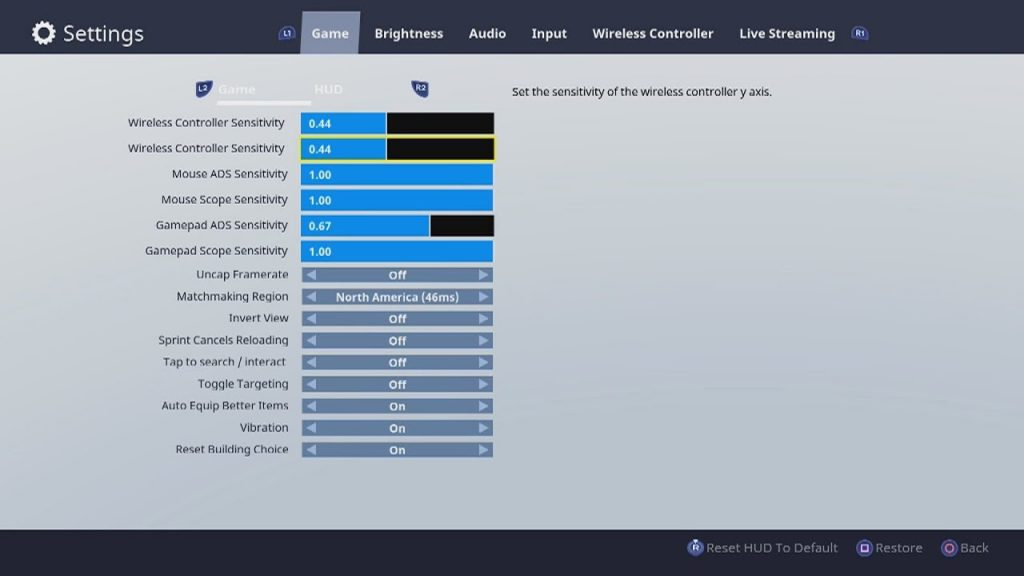 How to Choose the Best Fortnite Settings - Fortnite Nexus