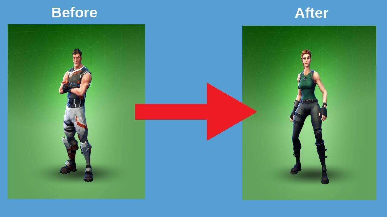 How to Change Your Character's Gender in Fortnite - [10