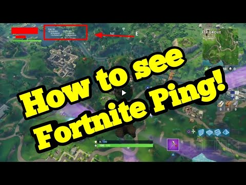 Fortnite Guide: How to Show Your Ping