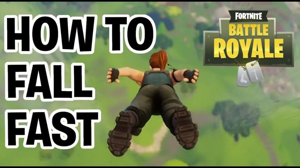 How to Land Faster in Fortnite