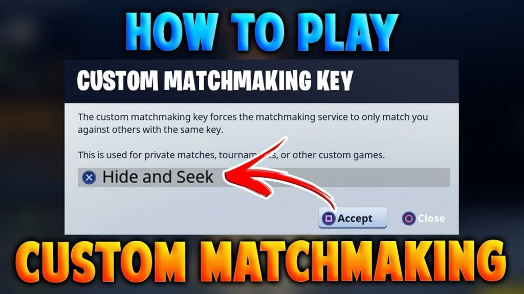 Matchmaking full fortnite
