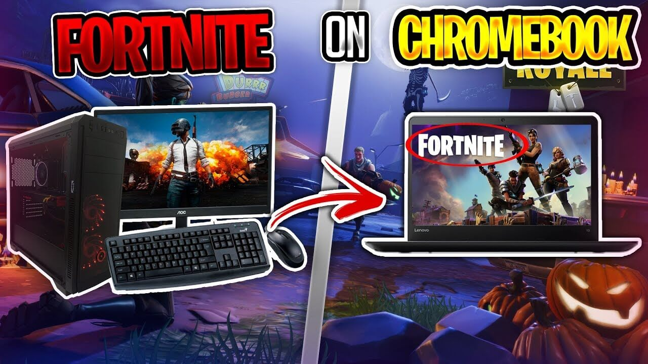 How to download fortnite on a chromebook os