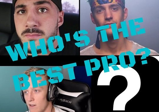 Top 10 Professional Fortnite Players of 2019