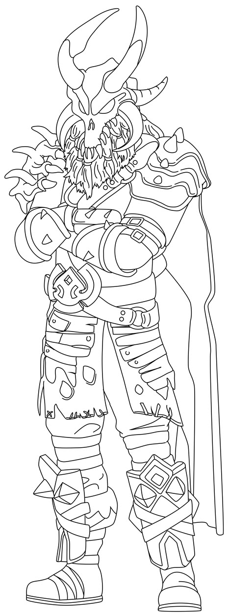 Fortnite Coloring Pages 25+ Free - Ultra High Resolution