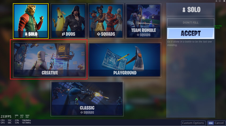 How to Play Custom Maps in Fortnite - Using Codes in Creative Mode