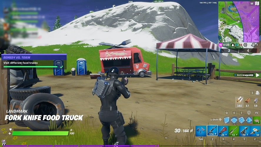 third food truck for remedy vs toxin challenge