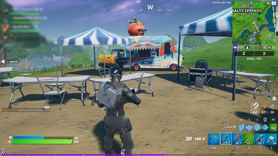 second food truck for remedy vs toxin challenge