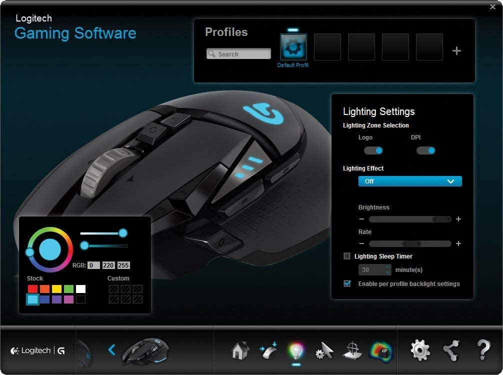 Proteus Core Tunable Gaming Mouse with Fully Customizable Surface, Weight and Balance Tuning
